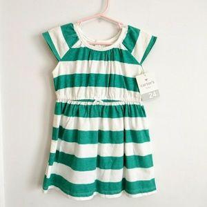 Carter's 24m Striped Dress